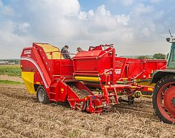 SINGLE ROW HARVESTER