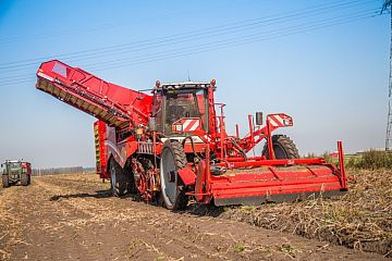 Self-propelled harvester VARITRON 470