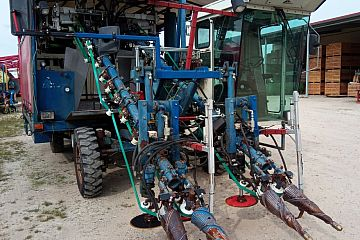 Asa Lift Chives harvester 2 row self propelled