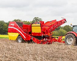 TWO ROW HARVESTER